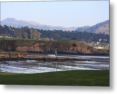 18th At Pebble Beach Metal Print