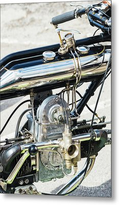 1922 Model Ws Brough Metal Print by Tim Gainey