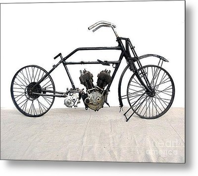1926 James Model V Twin Metal Print by Pg Reproductions