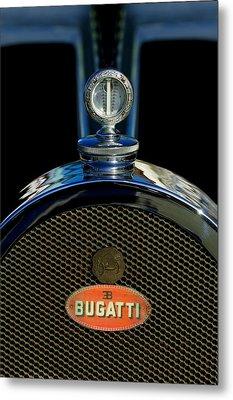 1927 Bugatti Replica Hood Ornament Metal Print