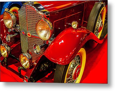 1932 Packard Model 902 Rumble Seat Coupe Metal Print by Garry Gay