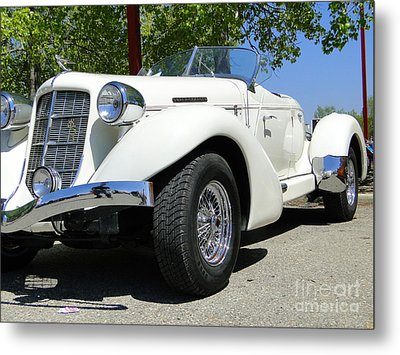 1935 Auburn 851 Boattail Speedster Metal Print by Al Bourassa