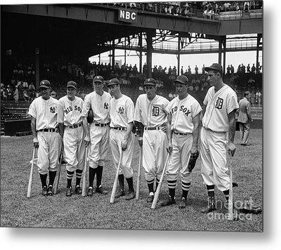 1937 All Star Baseball Players Metal Print