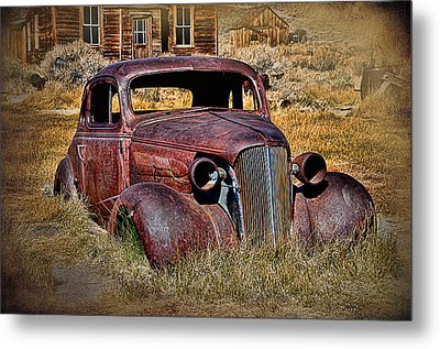 1937 Chevrolet Coupe Metal Print