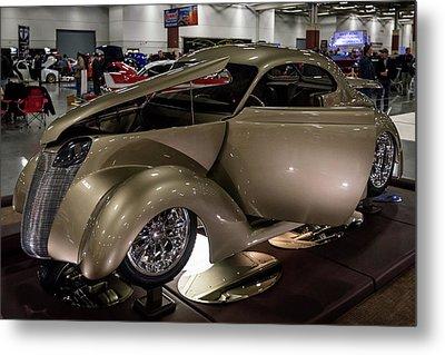 1937 Ford Coupe Metal Print by Randy Scherkenbach
