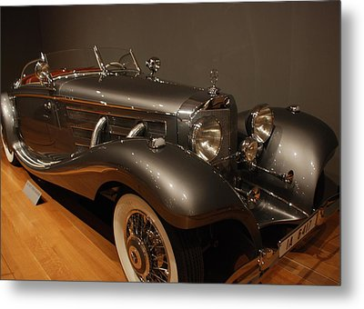 1937 Mercedes Benz 540 Special Roadster Metal Print by Renee Holder