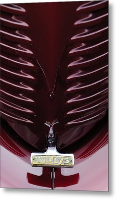 1938 Willys Grille Metal Print by Jill Reger