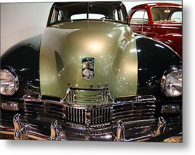 1947 Kaiser Metal Print by Wingsdomain Art and Photography