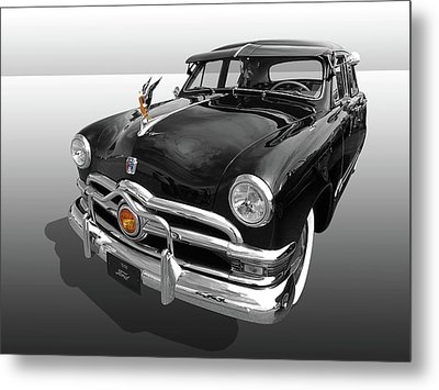 1950 Ford Sedan Metal Print by Gill Billington