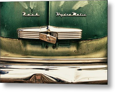 1951 Nash Ambassador Hydramatic Metal Print by James BO  Insogna