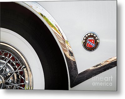 Metal Print featuring the photograph 1953 Buick Abstract 2 by Dennis Hedberg