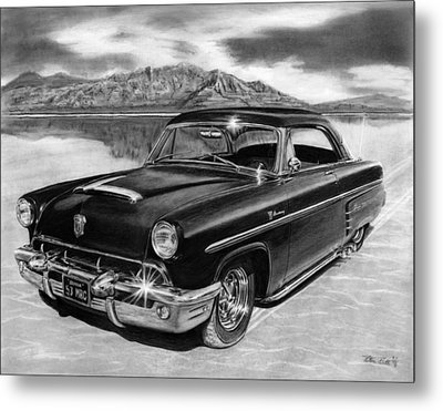 1953 Mercury Monterey On Bonneville Metal Print