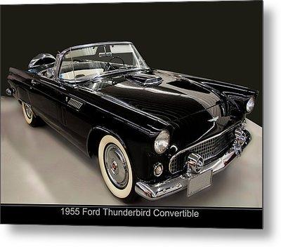 1955 Ford Thunderbird Convertible Metal Print