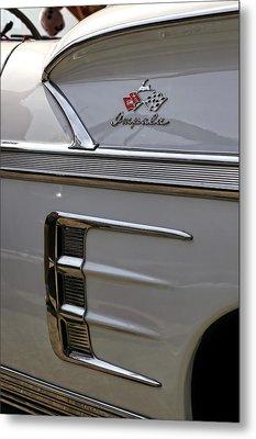 1958 Chevrolet Impala Metal Print by Gordon Dean II