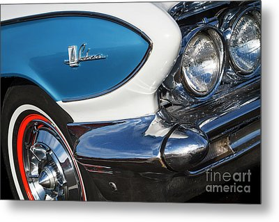 Metal Print featuring the photograph 1961 Buick Le Sabre by Dennis Hedberg