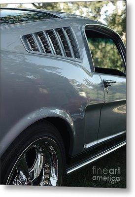1965 Ford Mustang Metal Print by Peter Piatt
