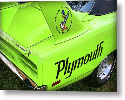1970 Plymouth Superbird Metal Print by Gordon Dean II