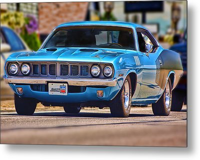 1971 Plymouth 'cuda 383 Metal Print by Gordon Dean II