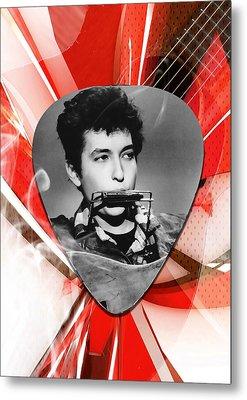 Bob Dylan Art Metal Print by Marvin Blaine