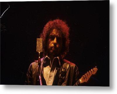 Bob Dylan Metal Print by David Bishop