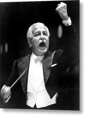 Boston Pops Orchestra Conductor, Arthur Metal Print by Everett