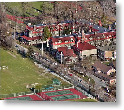 Chestnut Hill Academy 500 West Willow Grove Avenue Philadelphia Pa 19118 4198 Metal Print by Duncan Pearson