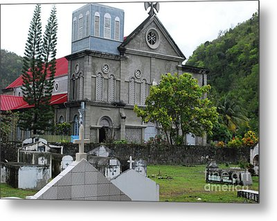 Metal Print featuring the photograph Church by Gary Wonning