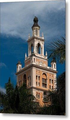 Coral Gables Biltmore Hotel Tower Metal Print