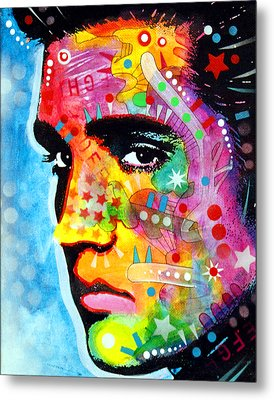 Metal Print featuring the painting Elvis Presley by Dean Russo