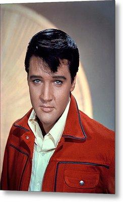 Elvis Presley Metal Print by Everett