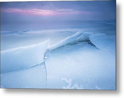 Metal Print featuring the photograph Frozen by Davorin Mance