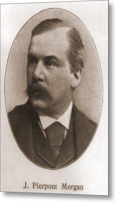 John Pierpont Morgan, 1837-1913 Metal Print by Everett