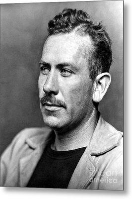 John Steinbeck (1902-1968) Metal Print by Granger