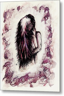 Lovers Metal Print by Rachel Christine Nowicki