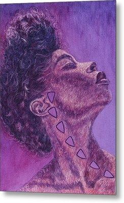 Madame Zasha Metal Print by Shahid Muqaddim