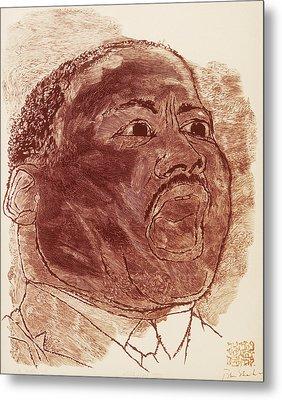 Martin Luther King, Jr Metal Print by Granger