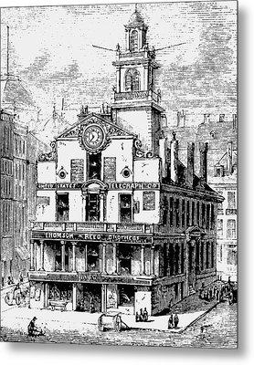 Old State House, Boston Metal Print