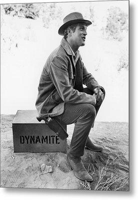 Paul Newman (1925-2008) Metal Print