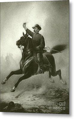 Sheridan's Ride Metal Print by Thomas Buchanan Read