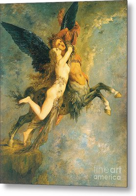 The Chimera Metal Print by Gustave Moreau
