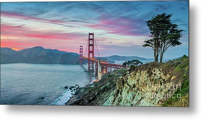 The Golden Gate Metal Print by JR Photography