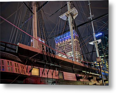 Metal Print featuring the photograph The Uss Constellation by Mark Dodd