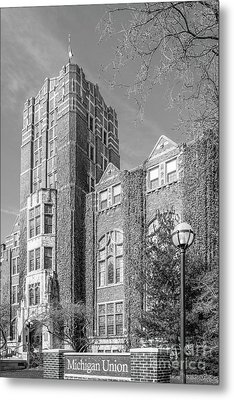 University Of Michigan Union Metal Print