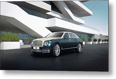 2017 Bentley Mulsanne Hallmark Series By Mulliner   1 Metal Print