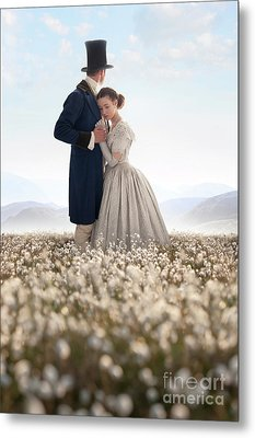 Victorian Couple Metal Print by Lee Avison