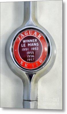 1957 Jaguar Xk 150 Metal Print