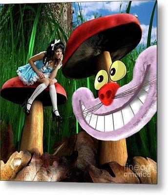 Alice In Wonderland Metal Print by Oleksiy Maksymenko