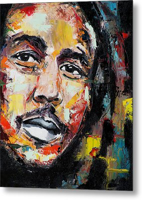 Bob Marley II Metal Print by Richard Day