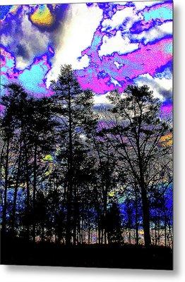 Brash Braddock Sunset Metal Print by Larry Oskin