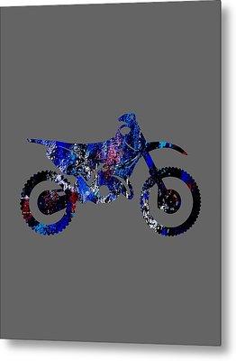 Dirt Bike Collection Metal Print